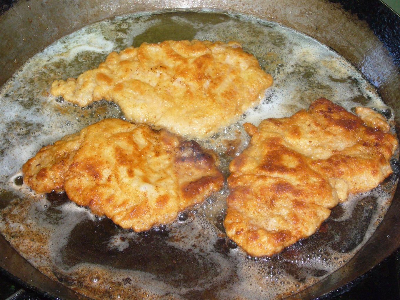 Schnitzel - fried in clarified butter